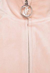 Juicy Couture - TANYA - Zip-up sweatshirt - pale pink - 7