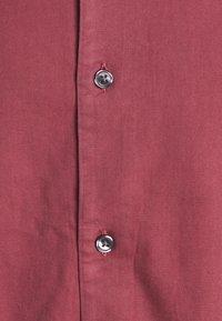 Abercrombie & Fitch - Vapaa-ajan kauluspaita - solid dusty burgundy - 5