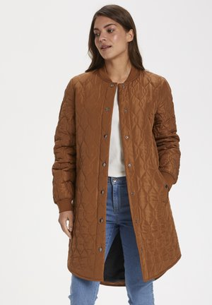 SHALLY QUILTED - Classic coat - brown