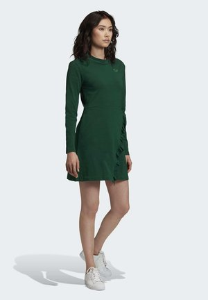 LONG SLEEVE DRESS - Trikoomekko - green