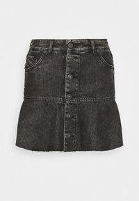 Diesel - DE BETHY SKIRT - Denim skirt - washed black - 4