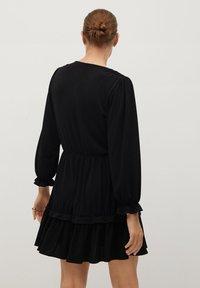 Mango - MOSS7 - Jersey dress - černá - 2