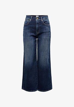 Jean flare - dark blue denim