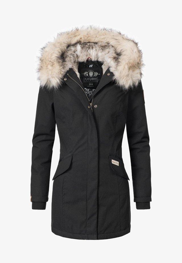 CRISTAL - Winter coat - black