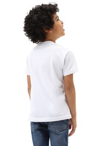 Vans - BY VANS CLASSIC LOGO FILL KIDS - T-shirt con stampa - white/galactic glow - 1