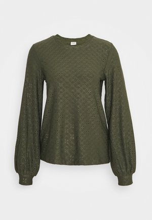 JDYCATHINKA BELLSLEEVE  - Long sleeved top - deep depths