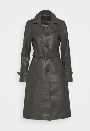 RAZKIELLE - Trenchcoat - understated black