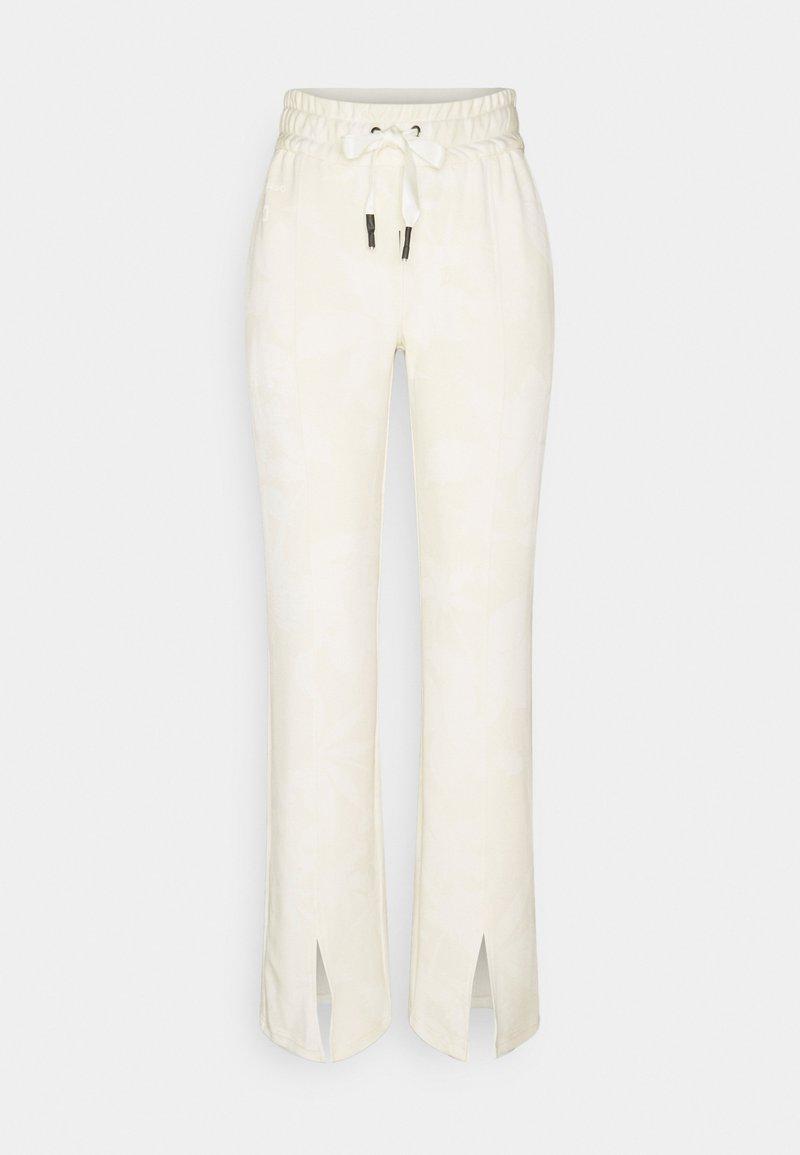 Desigual - PANT PINTUCK  - Tracksuit bottoms - white