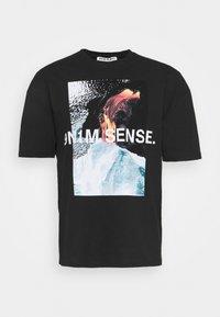 9N1M SENSE - VULKAN UNISEX - T-shirt print - black - 4