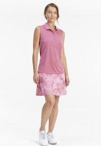 Puma Golf - ROTATION SLEEVELESS - Sports shirt - rose wine - 1