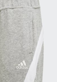 adidas Performance - BOLD HOODED TRACKSUIT - Tracksuit bottoms - grey - 5