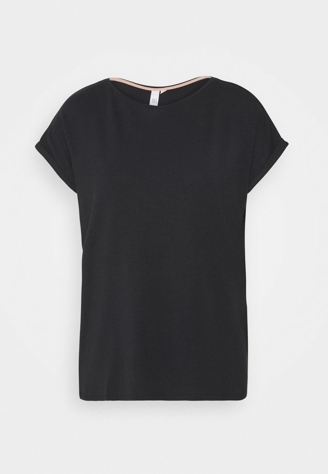 KURZARM - Basic T-shirt - black