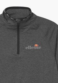 Ellesse - DUPLEXA ZIP UNISEX - Long sleeved top - dark grey - 2