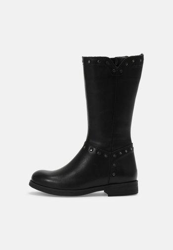 AGATA - Vysoká obuv - black