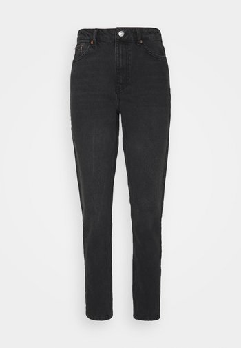 MOM              - Straight leg jeans - washed black