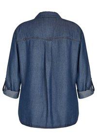 TR - Button-down blouse - blue denim - 1