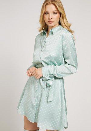 Shirt dress - himmelblau