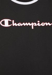 Champion - BASKET GAME CREWNECK UNISEX - T-shirt imprimé - black - 2