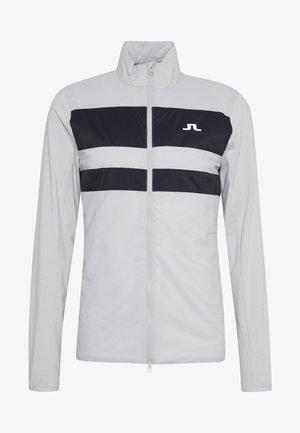 PACKLIGHT HYBRID JKT-LIGHT MID - Sportovní bunda - stone grey