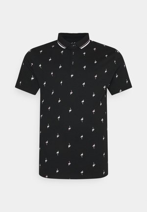 FLAMINGO - Poloshirt - black