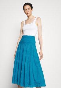 Lauren Ralph Lauren - LUHANNA PEASANT SKIRT - Pleated skirt - summer topaz - 3
