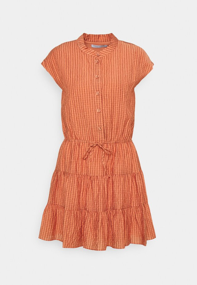 OLLIE DRESS - Shirt dress - peach