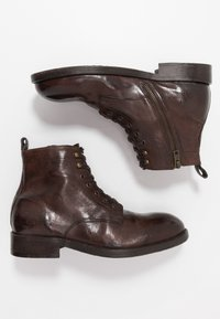 Hudson London - Lace-up ankle boots - brown washed - 1