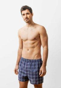 SNOCKS - WOVEN - 3 PACK - Boxer shorts - big check - 2