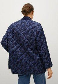 Mango - Winter jacket - bleu marine foncé - 2