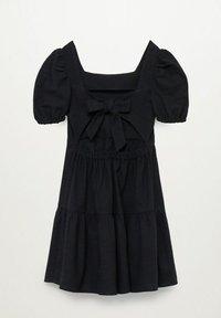 Mango - Denní šaty - black - 1