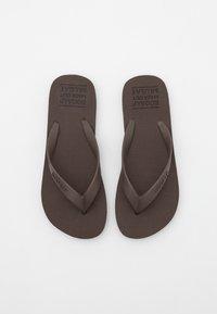 Ecoalf - ALGAM KIDS UNISEX - Pool shoes - brown - 3