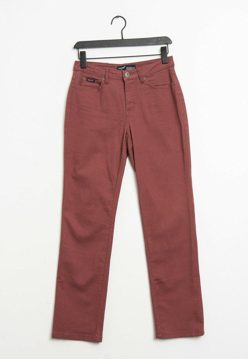 ARIZONA - Straight leg jeans - pink