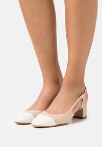 Bianca Di - Classic heels - beige/white - 0