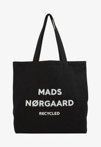 Mads Nørgaard - BOUTIQUE ATHENE - Tote bag - black/white - 1