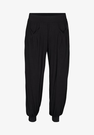 WITH POCKETS - Tracksuit bottoms - black