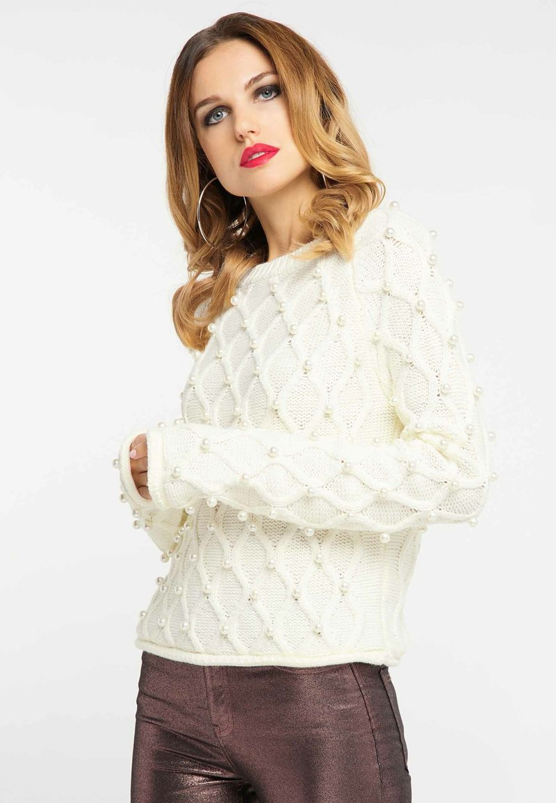 faina - Jumper - white