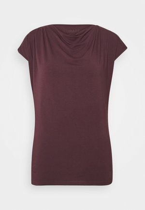 WASSERFALL - Basic T-shirt - bordeaux