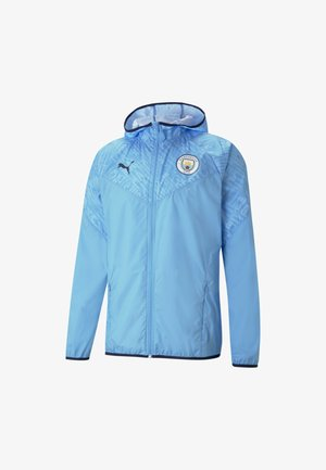 MANCHESTER CITY  - Klubbkläder - team light blue-peacoat