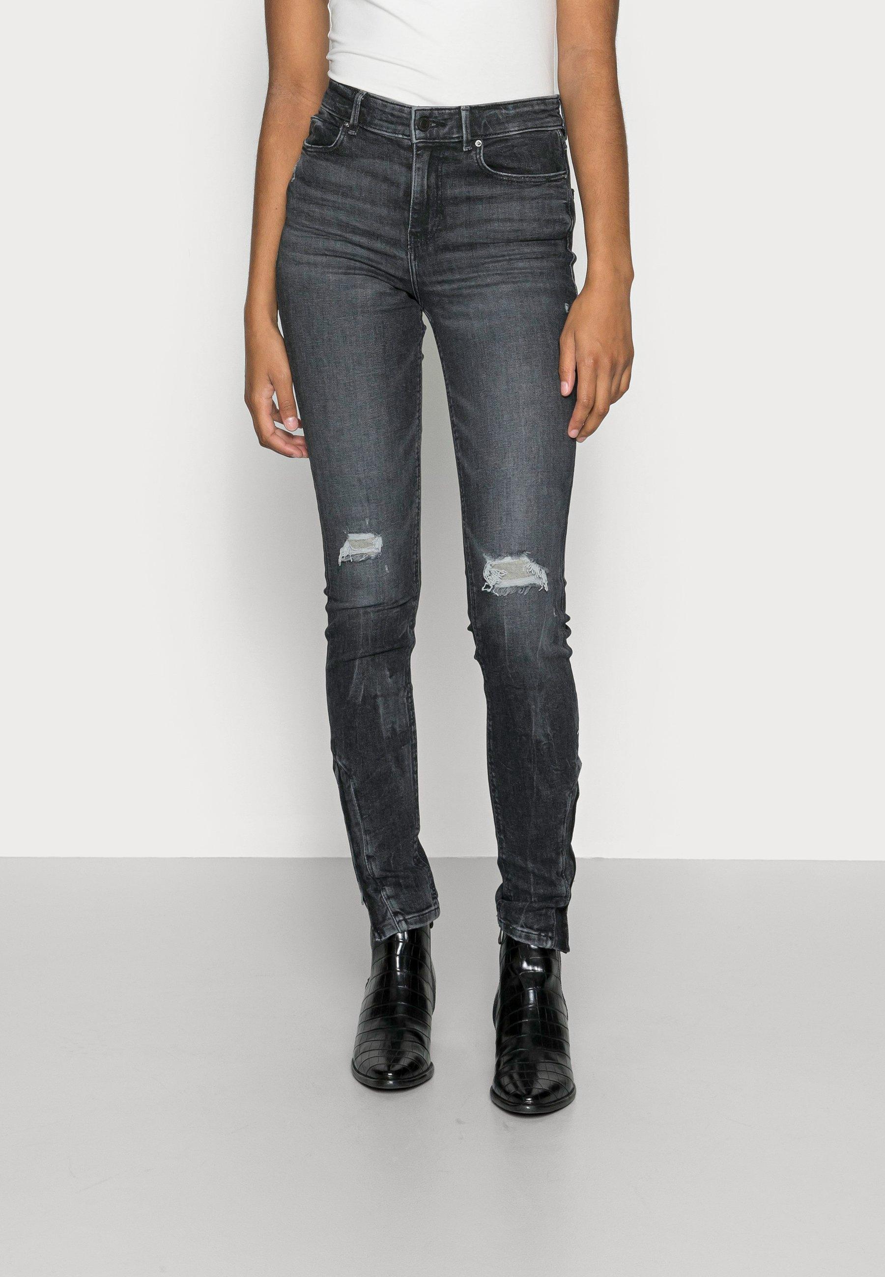 Femme BOTTOM ZIP - Jeans Skinny