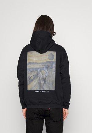 MUNCH LOST IN SPACE HOODIE - Sweatshirt - black