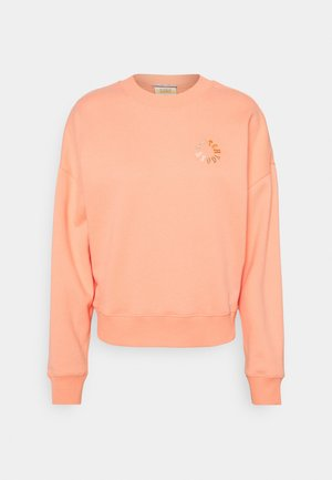 LOOSE FIT CREW NECK - Sweatshirt - flamingo pink