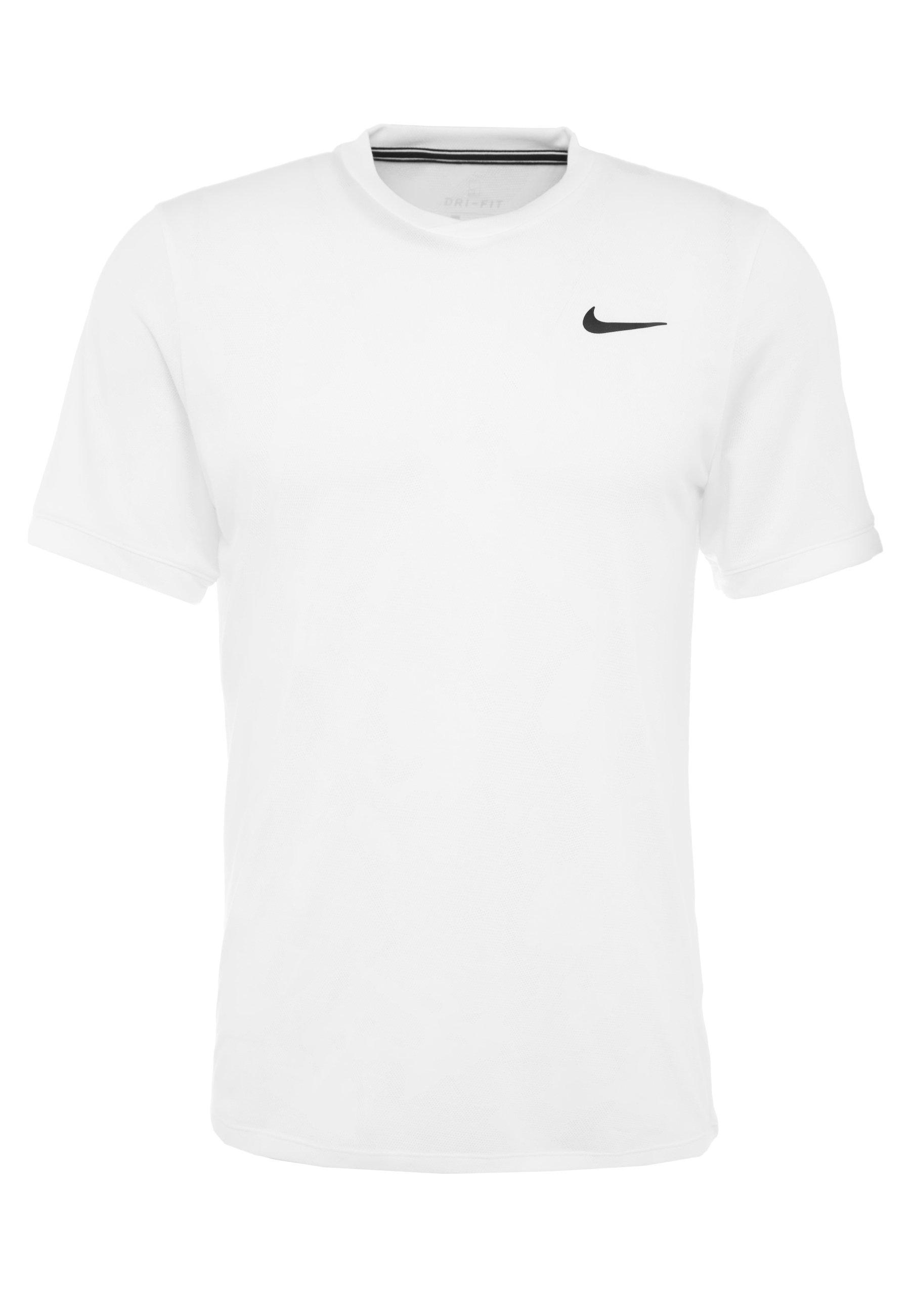 Nike Performance DRY  - T-shirt basique - white/black
