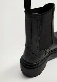 Mango - NACHO - Platform ankle boots - schwarz - 3