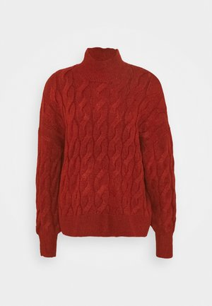 JAC CABLE SLOUCHY - Jumper - red