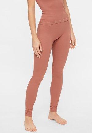 NAHTLOSE - Leggings - Trousers - russet