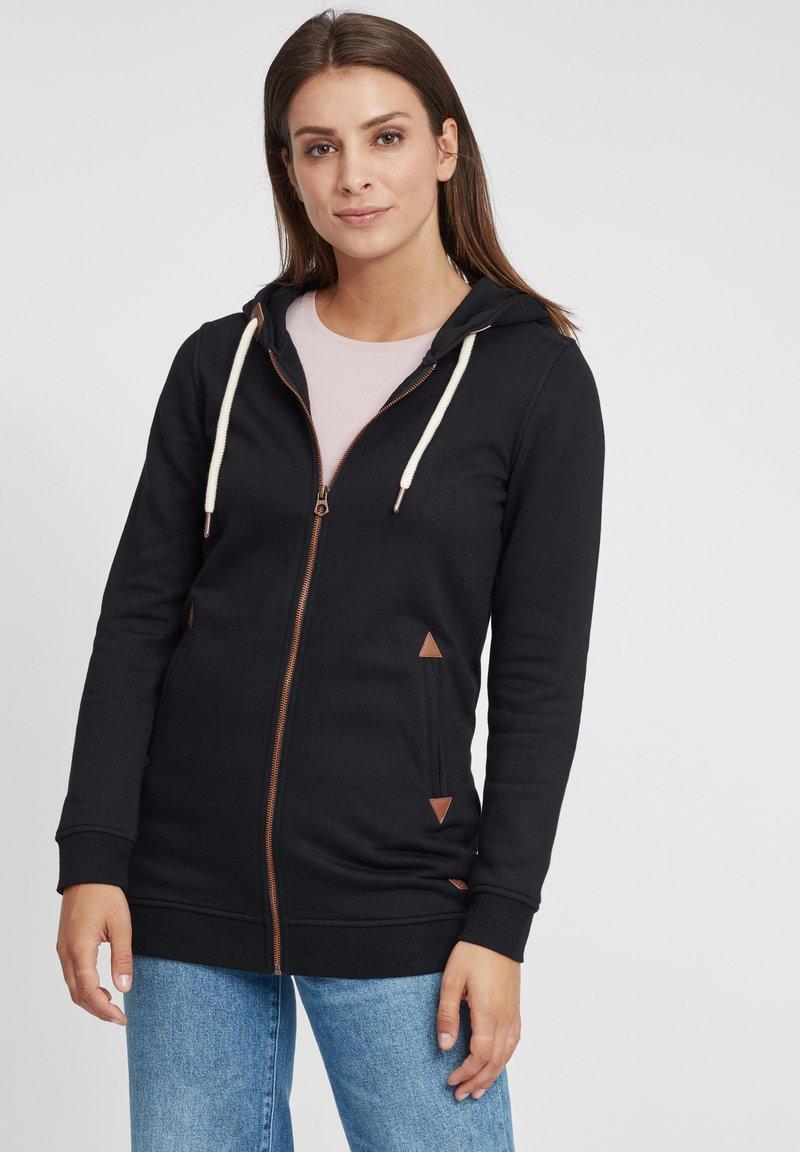 Oxmo - VICKY  - Zip-up hoodie - black
