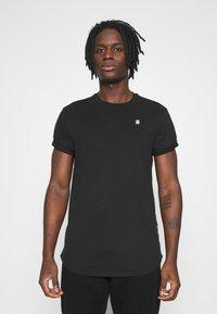 G-Star - LASH 2 PACK - Basic T-shirt - black - 1