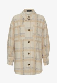 Soaked in Luxury - Short coat - sandshell check - 4