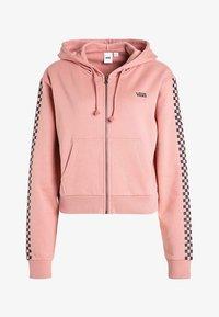 Vans - FUNNIER TIMES  - Zip-up hoodie - rose dawn - 4