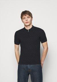 Emporio Armani - Polo shirt - dark blue - 0